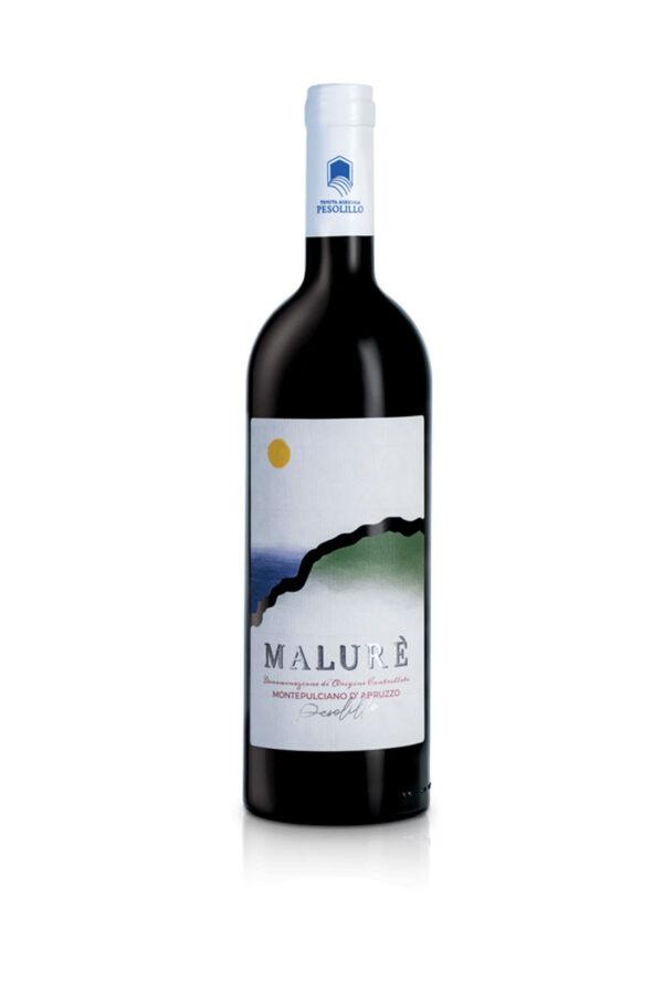 Malurè vino rosso Montepulciano d'Abruzzo DOC